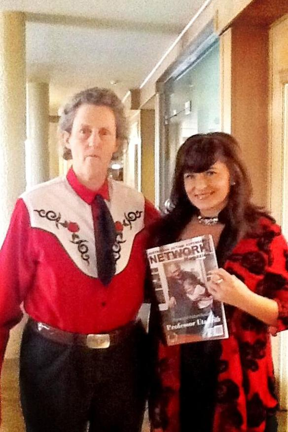 Professor Temple Grandin June 2013