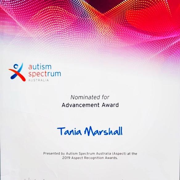 Tania A  Marshall M Sc , Autism Ambassador for EPG and Supply Desk